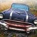 Foggy '56 Pontiac