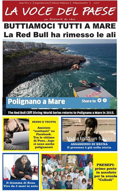 polignano copertina 16 gennaio 2015