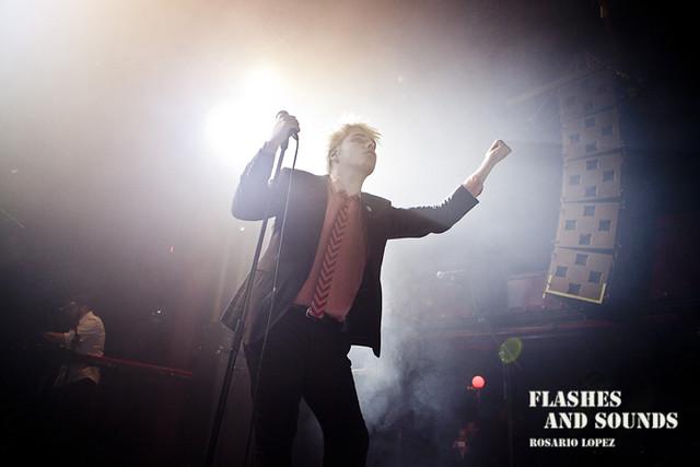 Gerard Way en Barcelona