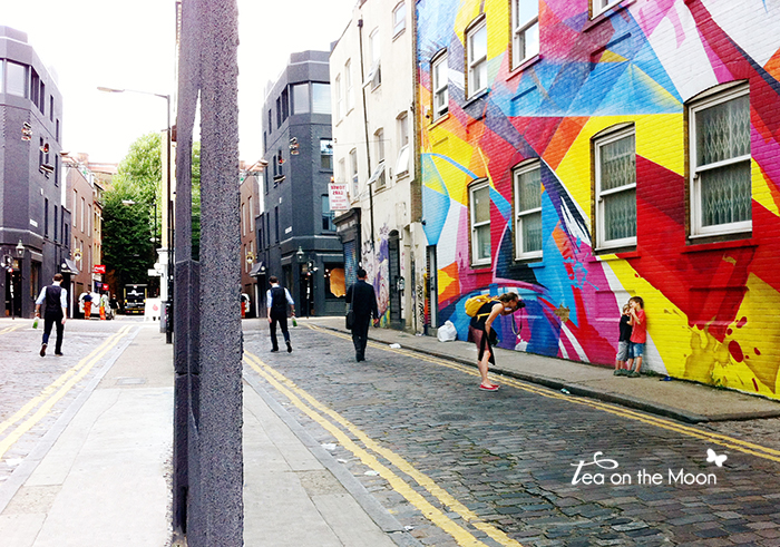 Londres, un paseo por Hoxton y Shoreditch
