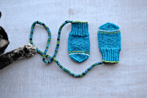 the baby knit set