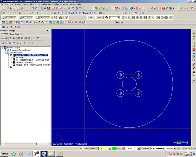 Skill Builder: VectorWorks, Master CAM, and CNC Routing