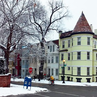 Wintery Georgetown this morning.