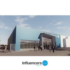 New Influencers North Campus building construction begins soon! #newera #influencersaus