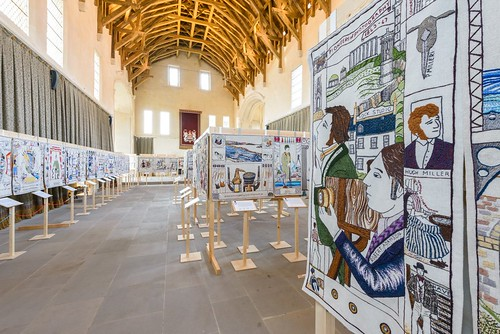 The Great Tapestry of Scotland at Stirling Castle