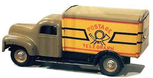MSB Granit Postwagen