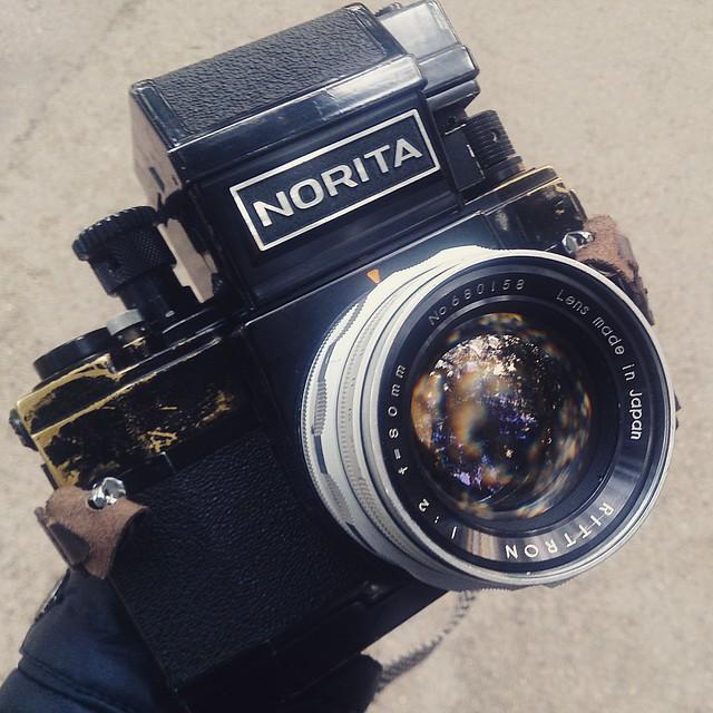 Norita rittron 80mm f2 超大光圈黑白試片