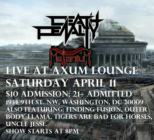 Death Penalty at Axum Lounge