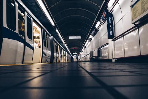 Burrard Street Skytrain Station