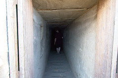 Entrance to Hawara Pyramid