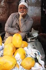 Papaya Seller