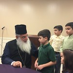 His Eminence Archbishop Makarios, Metropolitan of the Archdiocese of Kenya, Visits the United States