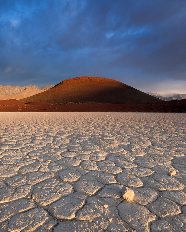 First Light on the Dry Lake