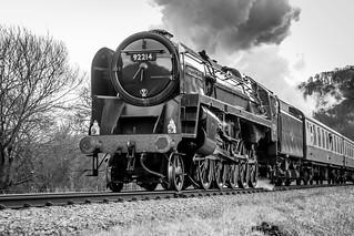 First Train of the Steel Steam & Stars IV Llangollen Railway
