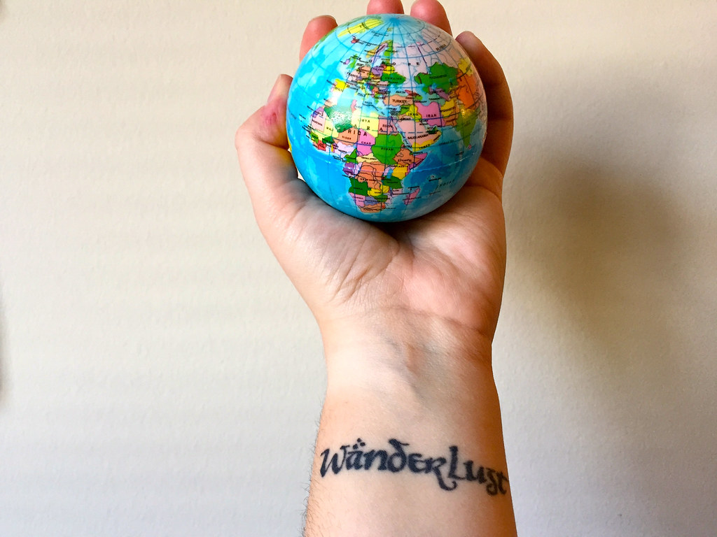 Travel tattoos and their stories wanderlust tattoo gumiabroncs Gallery