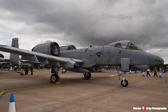 82-0654 SP - A10-0702 - USAF - Fairchild A-10A Thunderbolt II - Fairford RIAT 2007 - Steven Gray - IMG_5983