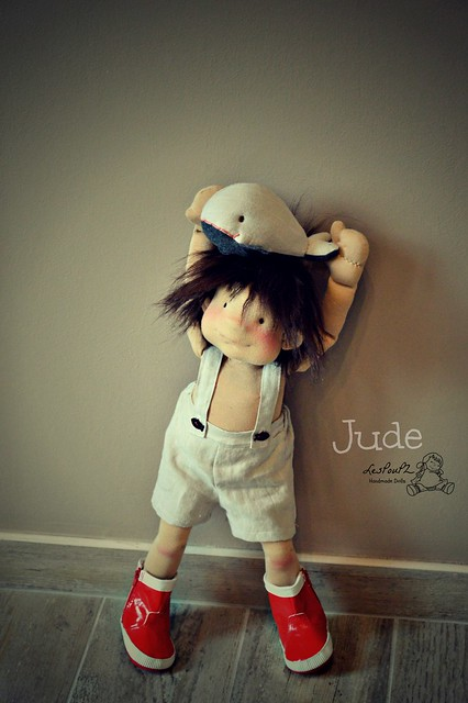 Jude, 19-inch doll by LesPouPZ