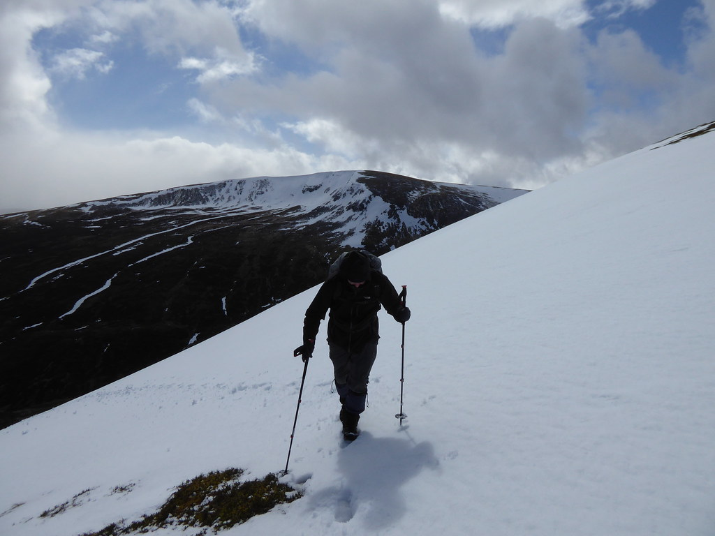 On Beinn Udlamain