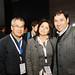 Eduardo Hasan, de Minera Tres Valles y Leonor Ardiles, de Basf Chile, junto a un participante de Cooperclor 2016