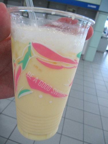 阪神競馬場の売店で売っているミックスジュース