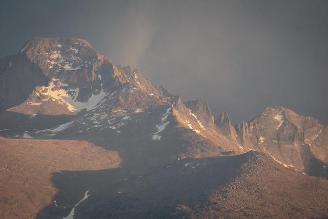Mountain Range from Rocky Mountain NP