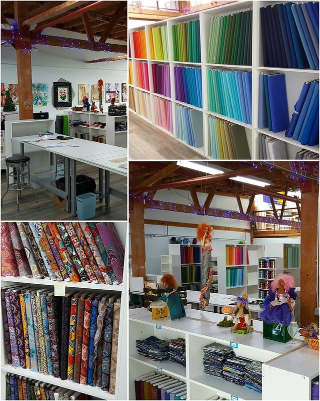 I got a sneak preview to a new quilt shop opening on Sept 1. Sally, the owner, invited the EBMQ to preview and give her suggestions from a customer perspective. I can't wait until it open. #quiltshop #bayquilts #richmond #fabric #quilt #quilting