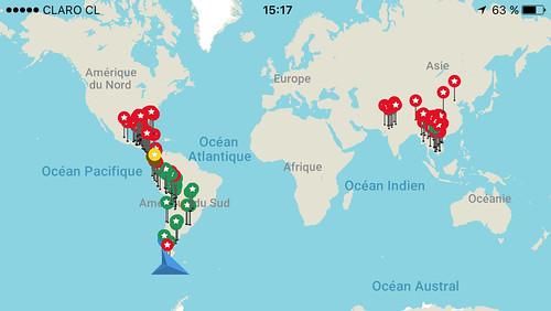 Punta Arenas: nous sommes arrivés au bout du monde à gauche ;)