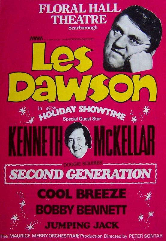 Floral Hall Programme: Les Dawson