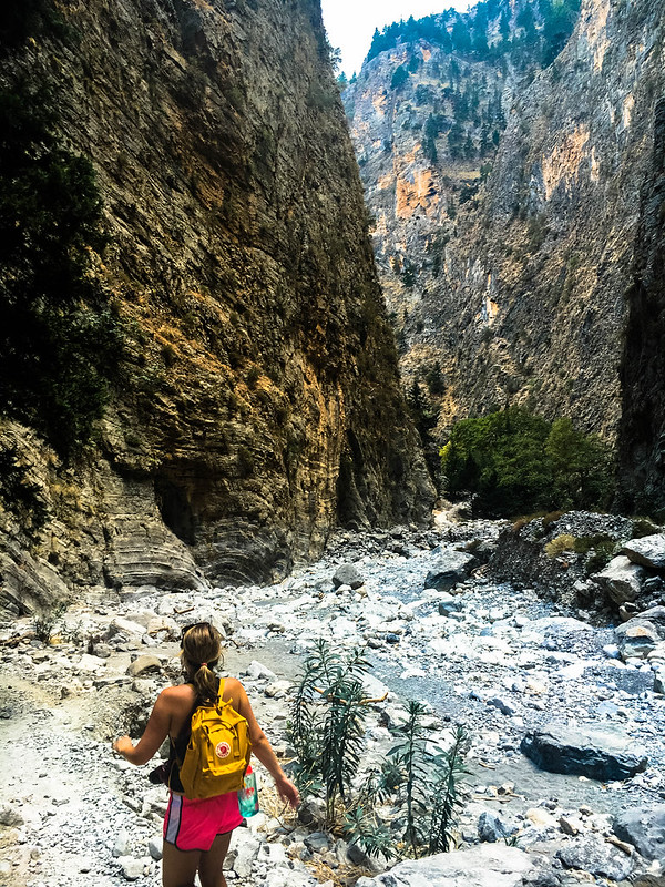 Hiking the Gorge of Samaria