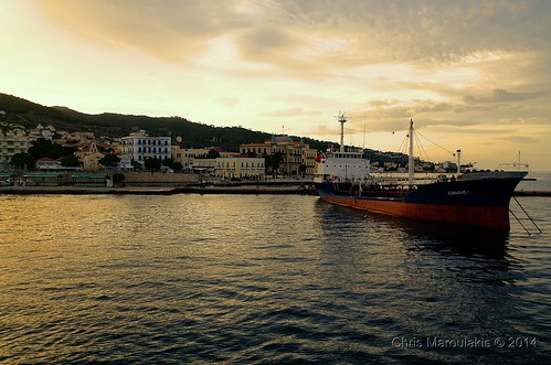 sunset island nikon greece spetses d7000