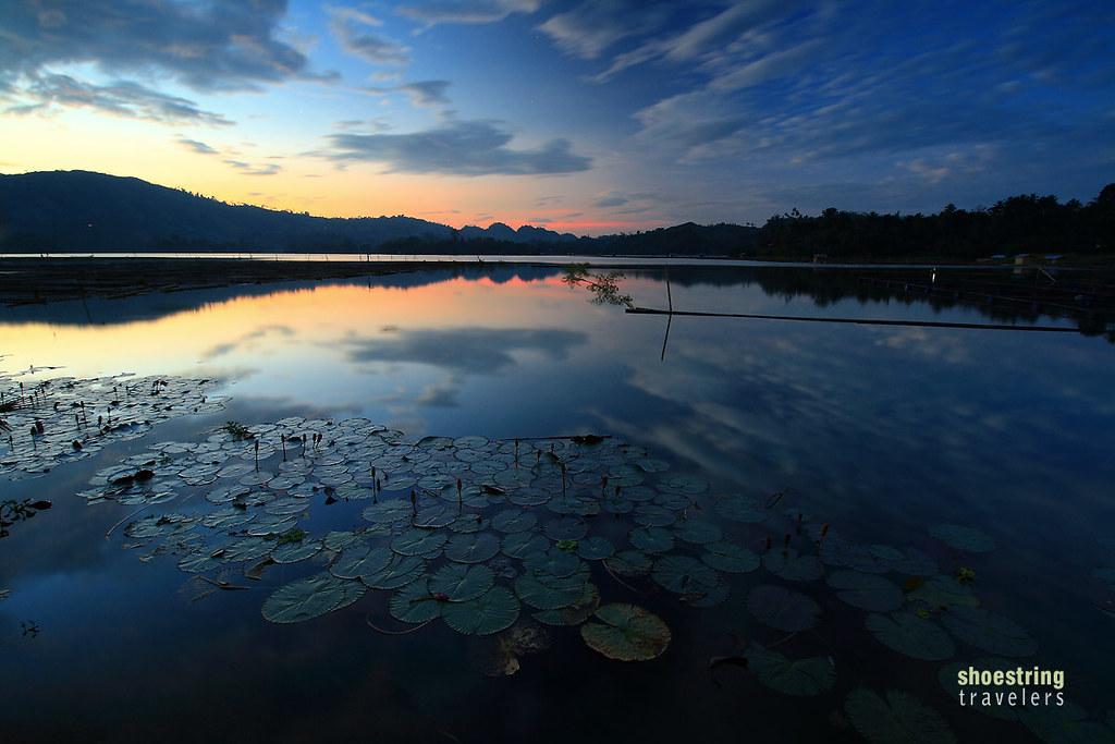 sunset at Lake Sebu