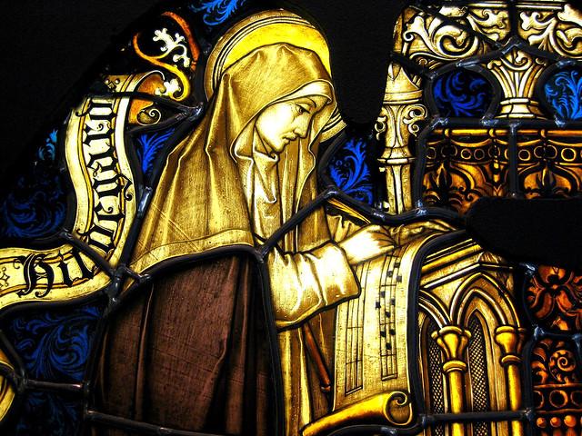 Die heilige Hildegard von Bingen