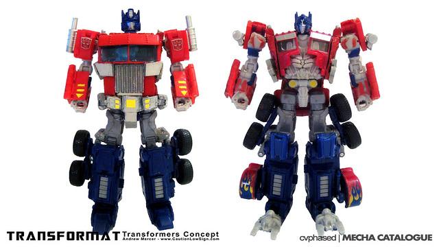 Caution Low Sign - TRANSFORMAT Transformers Concept
