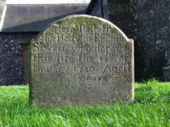 Edmund Sewell, 1720
