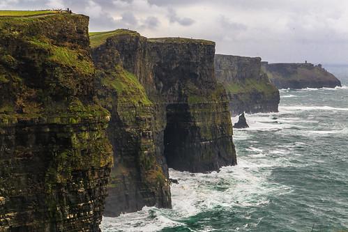 ireland sea irish galway nature landscape cliffs cliffsofmoher