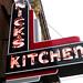 Huntington, IN Nick's Kitchen neon sign