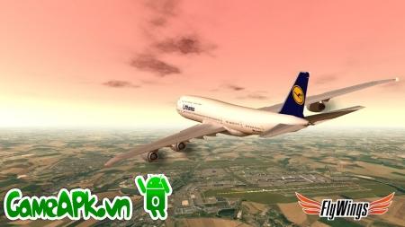 Flight Simulator Paris FULL HD v1.2.3 Unlocked cho Android