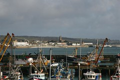 Penzance from Newlyn Harbour