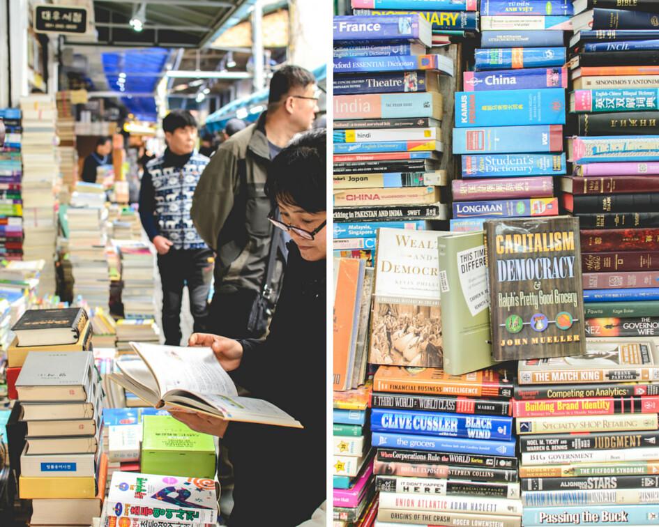 Bosu-dong Bookstreet buying