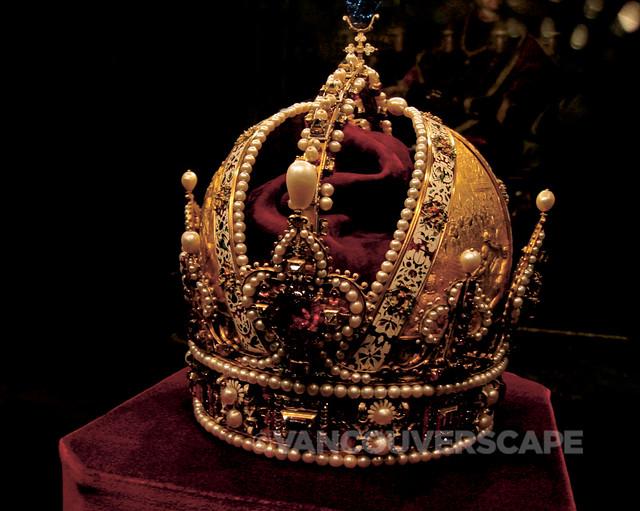 Austrian crown jewels at Schatzkammer, Vienna