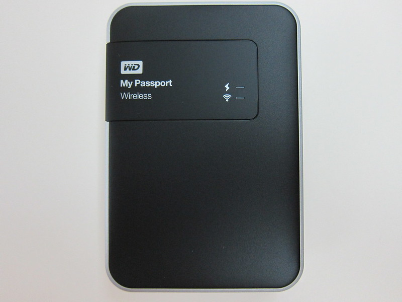 Western Digital - My Passport Wireless (2TB) - Top