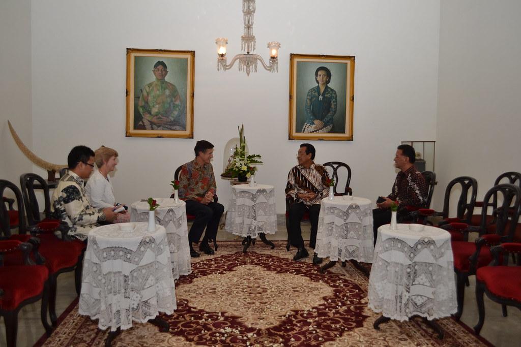 Ambassador Blake Travels to Yogyakarta, October 2014