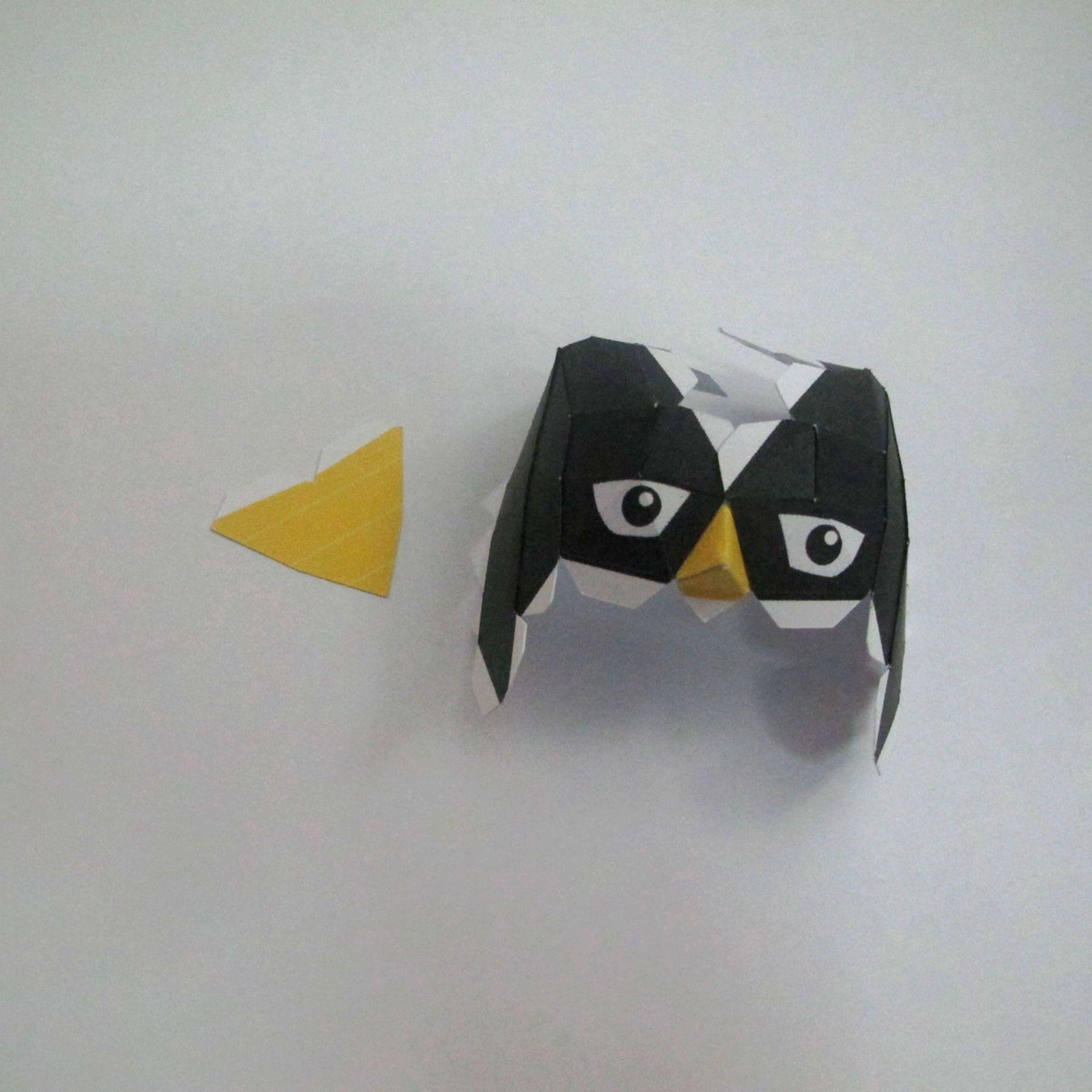 วิธีทำของเล่นโมเดลกระดาษ วูฟเวอรีน (Chibi Wolverine Papercraft Model) 015