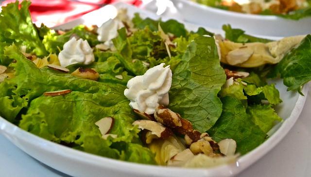 salad - la fattoria italian restaurant guatemala city