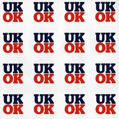 UKOK sticker sheet.  Better Together.  2014