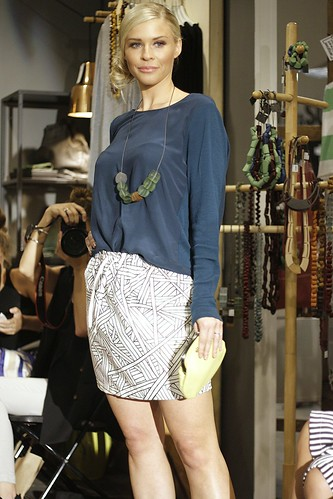 Digital print skirt