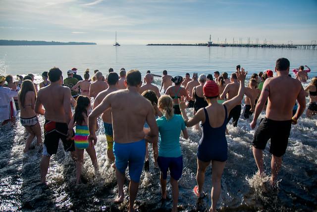Polar Bear Swim 2015 - White Rock