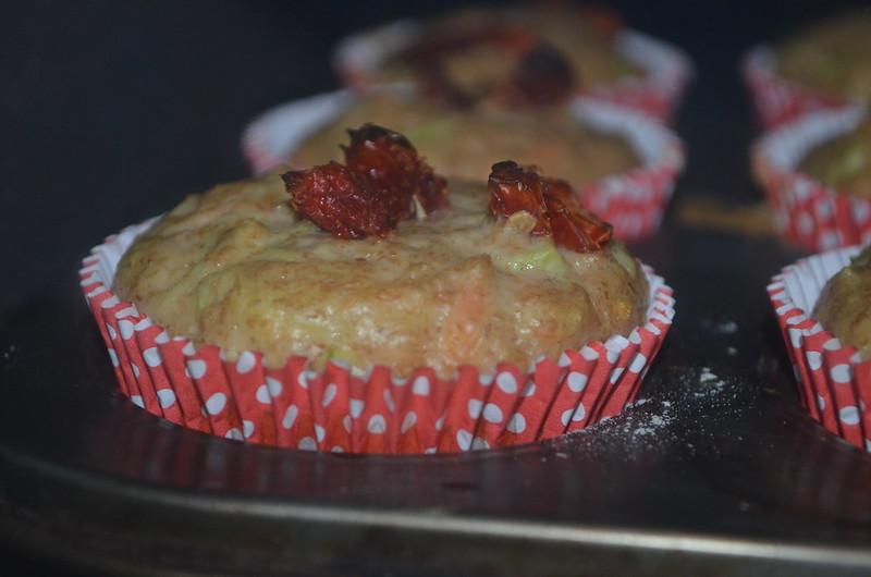 Muffins de Cenoura e Abobrinha