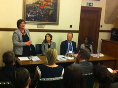 Speaking at the launch of APPG report on protecting children in conflict