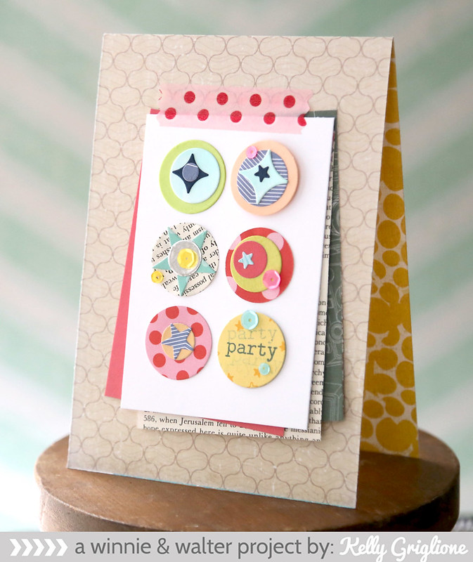 kelly_Fun Party Card with Confetti